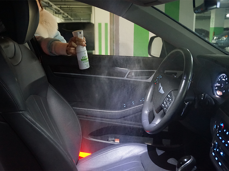 Easily use phytoncide in car interior